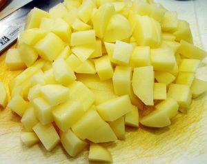картофель, тушеная картошка, накормить