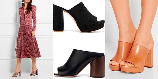 МЮЛИ, обувь