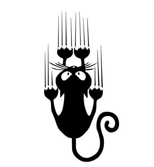 10 Разних посылок из Китая Мелочи для дома AliExpress, наклейка кот