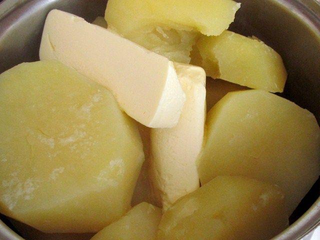 Картофель с маслом