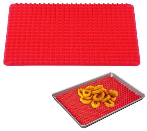Красная подстилка для стекания жира