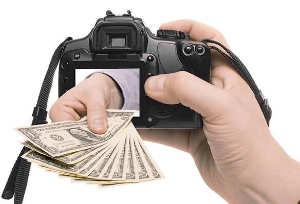 Как начать зарабатовать на фотографиях в сети?