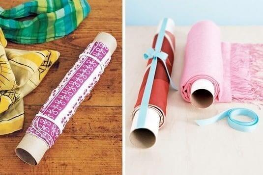 как хранить шарф