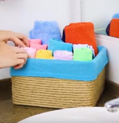 ящик для полотенец