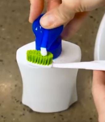 бутылка с дозатором для зубной пасты, лайфхак