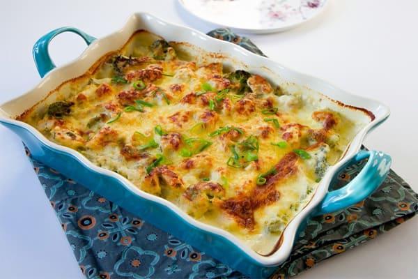 Простая и вкусная запеканка с картофелем и курицей