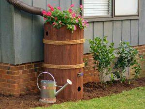 бочонок для сбора дождевой воды