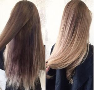 Olaplex до и после
