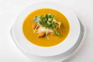 Суп из тыквы с лапшой