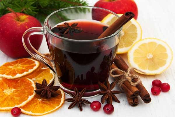 🍷Глинтвейн с апельсином — запах и вкус зимы