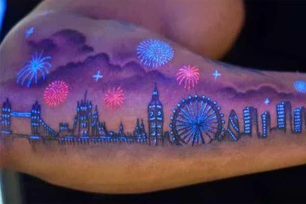 Флуоресцентные татуировки, способ сиять даже в темноте +много картинок!