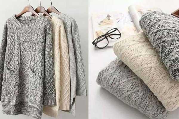 Как ухаживать за шерстяными свитерами?