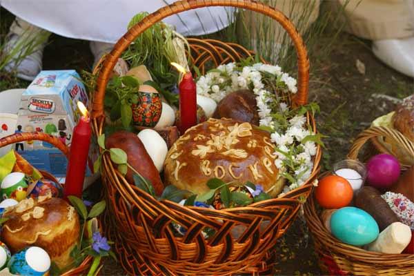 Пасхальная корзинка — список товаров для Пасхи и украшения!