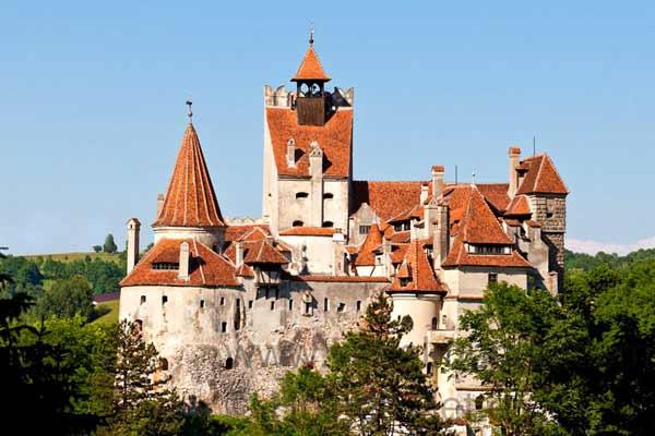 Замок в Бран, Румыния