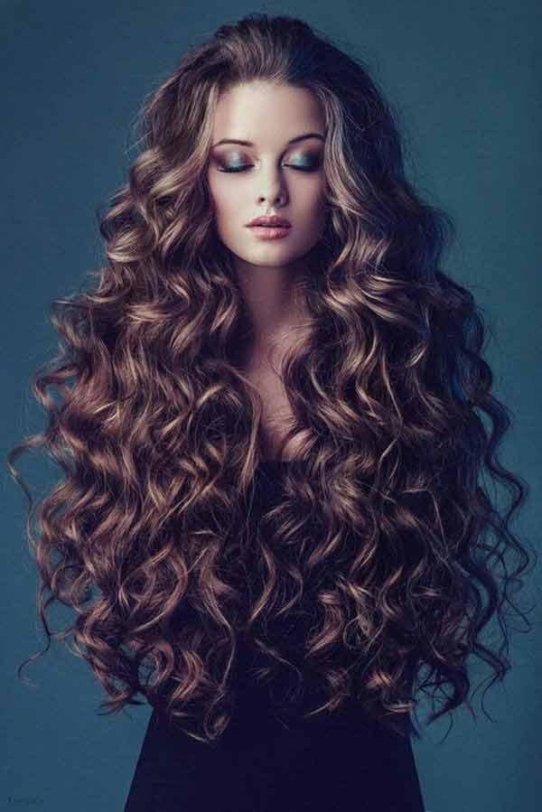 Очень длинные волосы