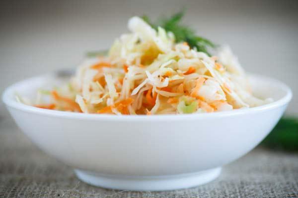 Квашеная капуста — калории, здоровье и свойства для похудения