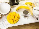 Манго смузи с кокосовым молоком
