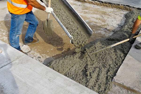 Метка бетон цементный раствор м300